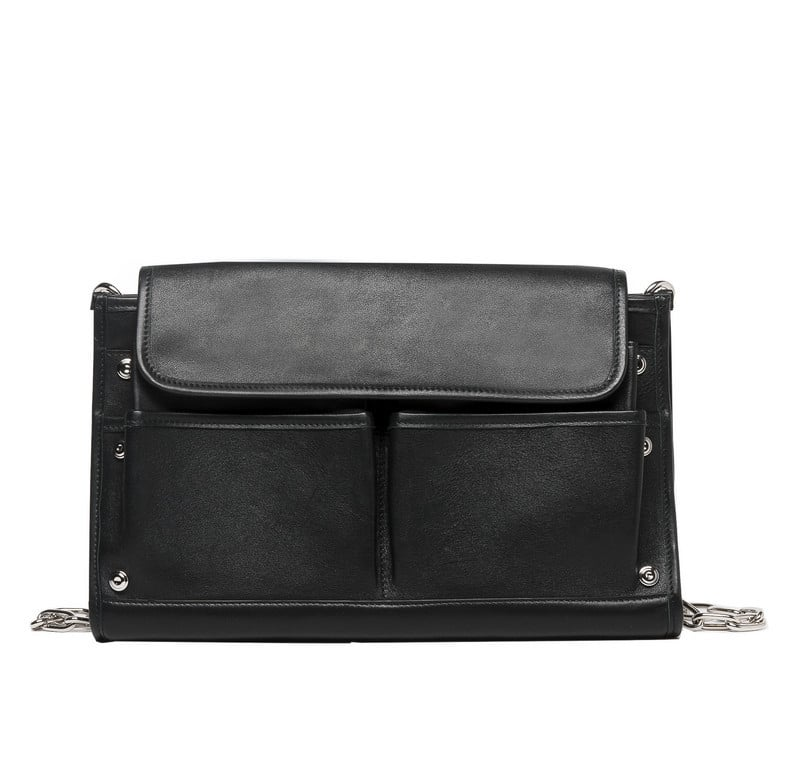 Balenciaga Noir Tool Clutch Bag