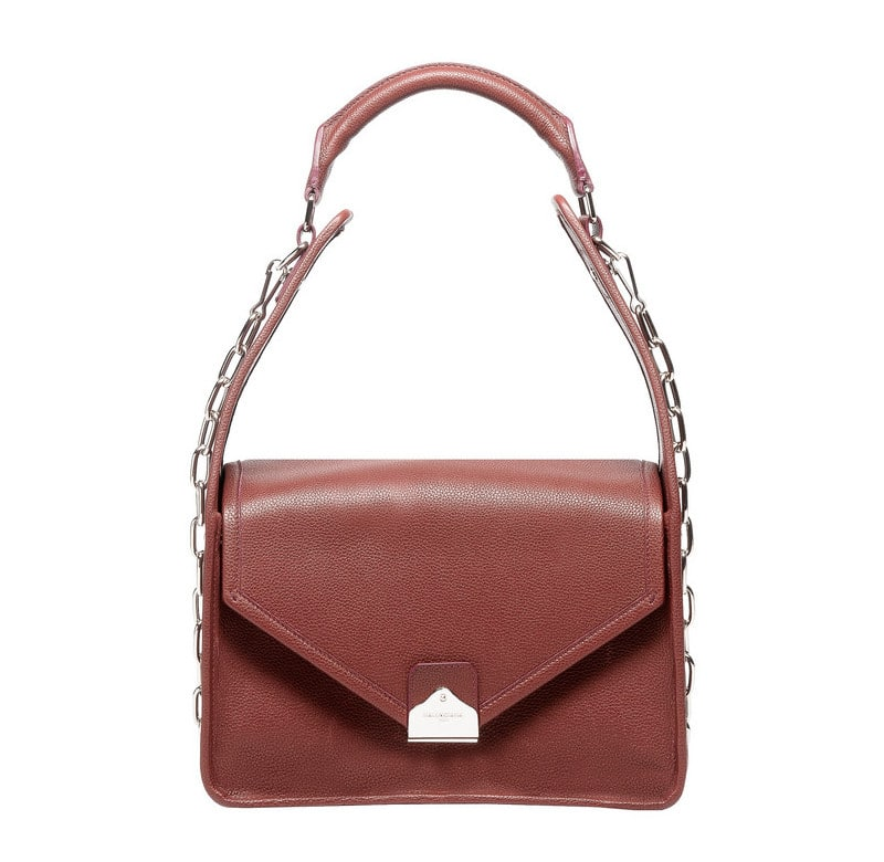 Balenciaga Rouge Grenat Tool Shoulder Flap Bag