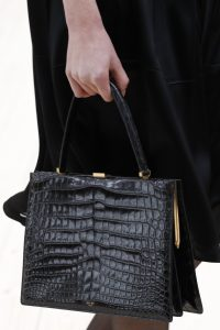 Celine Black Crocodile Top Handle Bag 2 - Spring 2017
