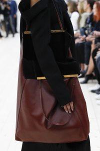 Celine Burgundy Tote Bag 2 - Spring 2017