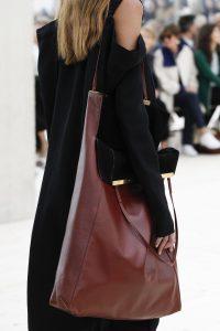 Celine Burgundy Tote Bag - Spring 2017