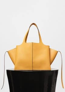 Celine Daffodil Tri-Fold Medium Shoulder Bag