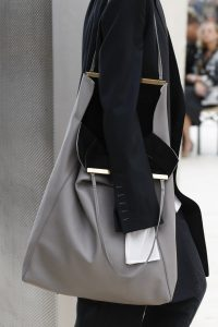 Celine Gray Tote Bag - Spring 2017