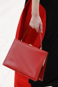 Celine Red Top Handle Bag 3 - Spring 2017