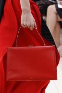 Celine Red Top Handle Bag 4 - Spring 2017