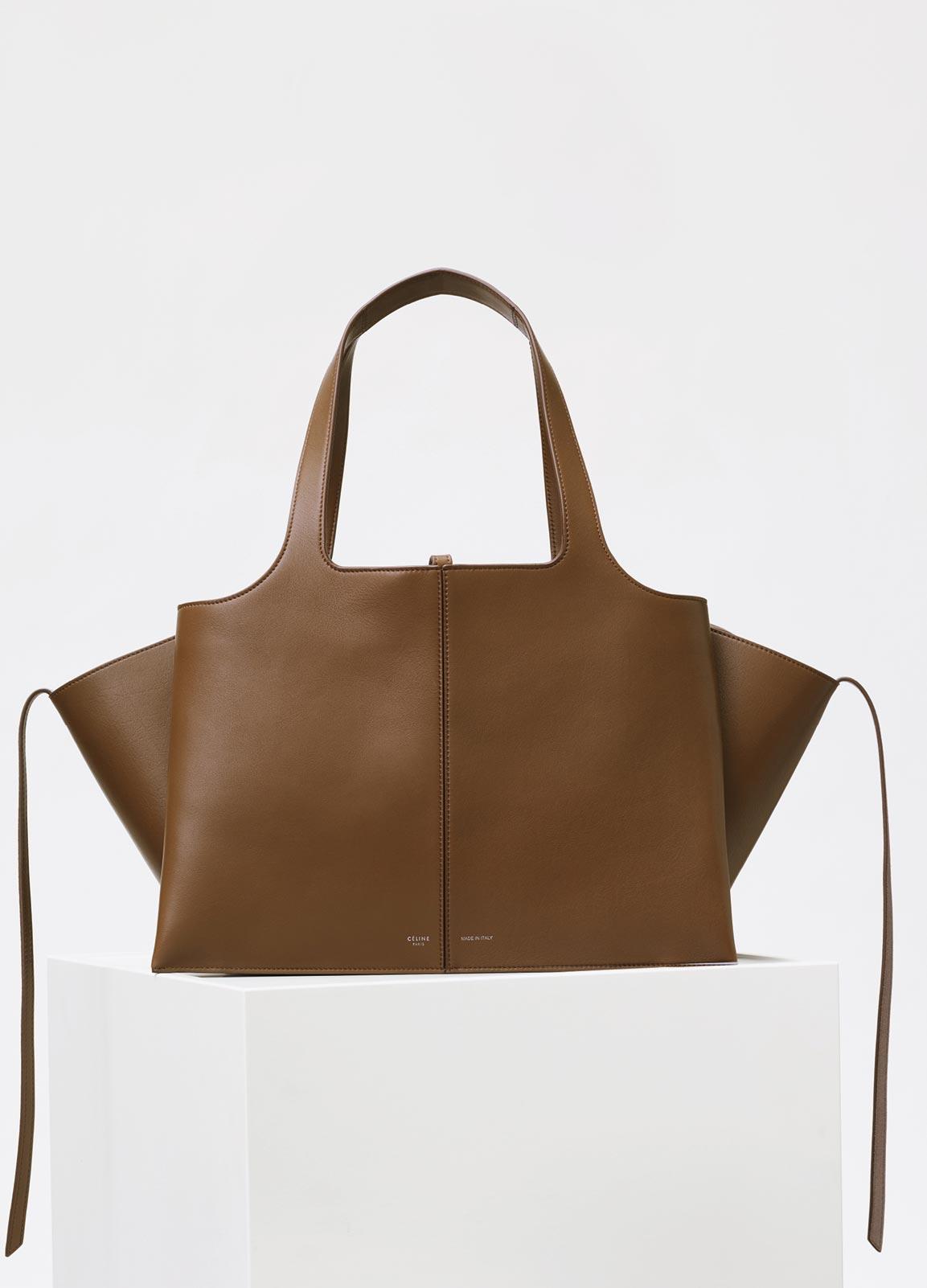 celine tri fold shoulder bag reference guide spotted fashion