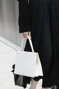 Celine White Top Handle Bag - Spring 2017