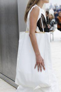 Celine White Tote Bag - Spring 2017