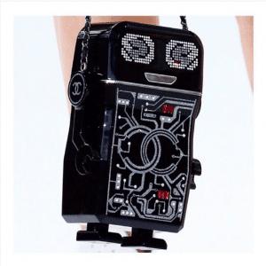 Chanel Black Robot Minaudiere Bag 5 - Spring 2017