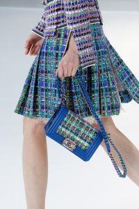 Chanel Blue Multicolor Boy Bag 2 - Spring 2017