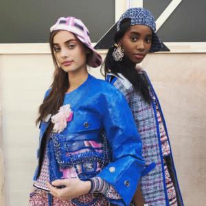Chanel Blue Multicolor Flap Bag - Spring 2017