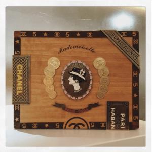 Chanel Cigar Box Minaudiere Bag 1