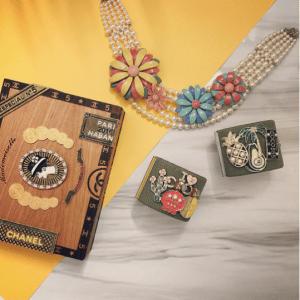 Chanel Cigar Box Minaudiere Bag 3