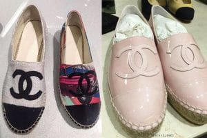 Chanel Cruise 2017 Espadrilles