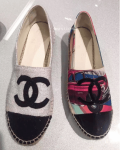 Chanel Cuba Print and Fabric Espadrilles 2