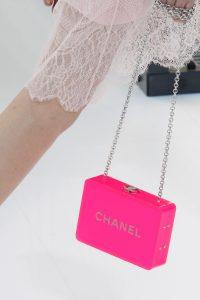 Chanel Fuchsia Minaudiere Bag - Spring 2017