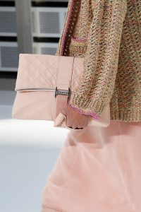 Chanel Light Pink Clutch Bag - Spring 2017