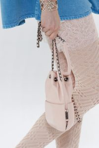 Chanel Light Pink Drawstring Bag - Spring 2017