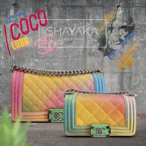 Chanel Multicolor Boy Bags