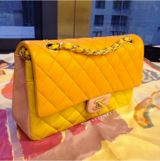 Chanel Multicolor Classic Flap Bag