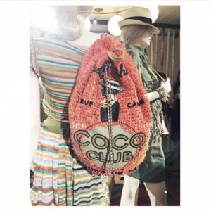 Chanel Orange Tweed Coco Club Backpack Bag 2