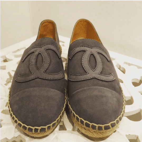 chanel fall winter 2016 espadrilles spotted fashion