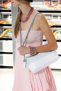 Chanel White Shoulder Bag - Spring 2017