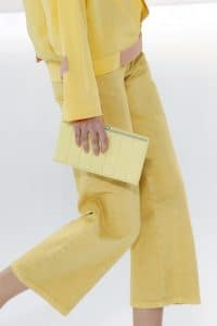 Chanel Yellow Clutch Bag - Spring 2017