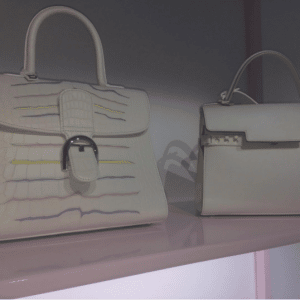 Delvaux White and Black Tempete and White Pin Bags - Spring 2017
