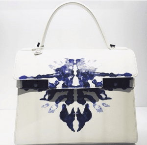 Delvaux White Painted Tempete Bag - Spring 2017
