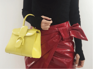 Delvaux Yellow Patent Brillant Bag - Spring 2017