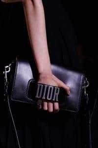 Dior Black Flap Bag - Spring 2017