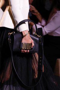 Dior Black Small Top Handle Bag - Spring 2017