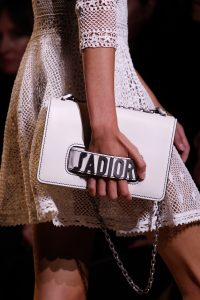 Dior White Flap Bag 2 - Spring 2017