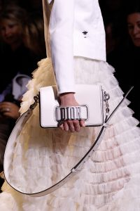Dior White Flap Bag - Spring 2017