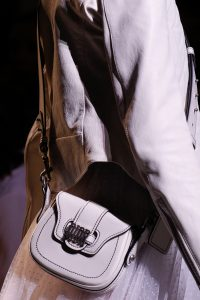 Dior White Saddle Bag 2 - Spring 2017