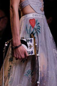 Dior White/Gold La Lune Minaudiere Bag - Spring 2017