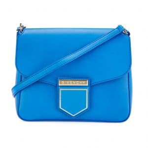 Givenchy Blue Leather Nobile Small Shoulder Bag