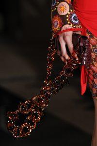 Givenchy Burgundy Crocodile Mini Flap Bag - Spring 2017