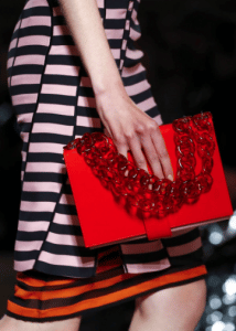 Givenchy Red Flap Bag 2 - Spring 2017