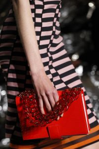 Givenchy Red Flap Bag - Spring 2017