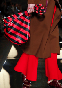 Givenchy Red/Black Striped Tote Bag - Spring 2017