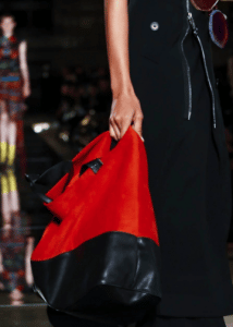 Givenchy Red/Black Tote Bag 2 - Spring 2017