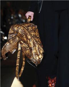 Givenchy Tan Python Tote Bag 3 - Spring 2017