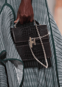 Hermes Black Crocodile Cinetic d'Hermes Bag - Spring 2017