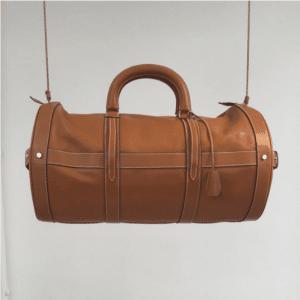 Hermes Gold Weekender Bag