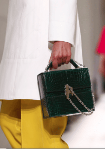 Hermes Green Crocodile Cinetic d'Hermes Bag - Spring 2017