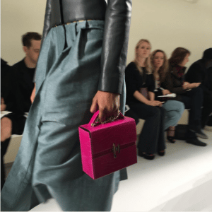Hermes Pink Crocodile Cinetic d'Hermes Bag - Spring 2017