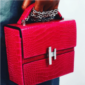 Hermes Red Crocodile Cinetic d'Hermes Bag - Spring 2017