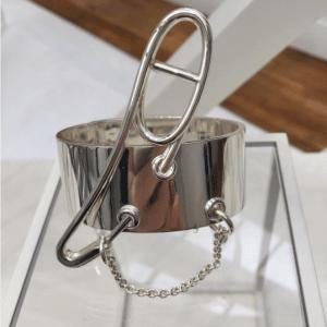 Hermes Silver Cuff Bracelet